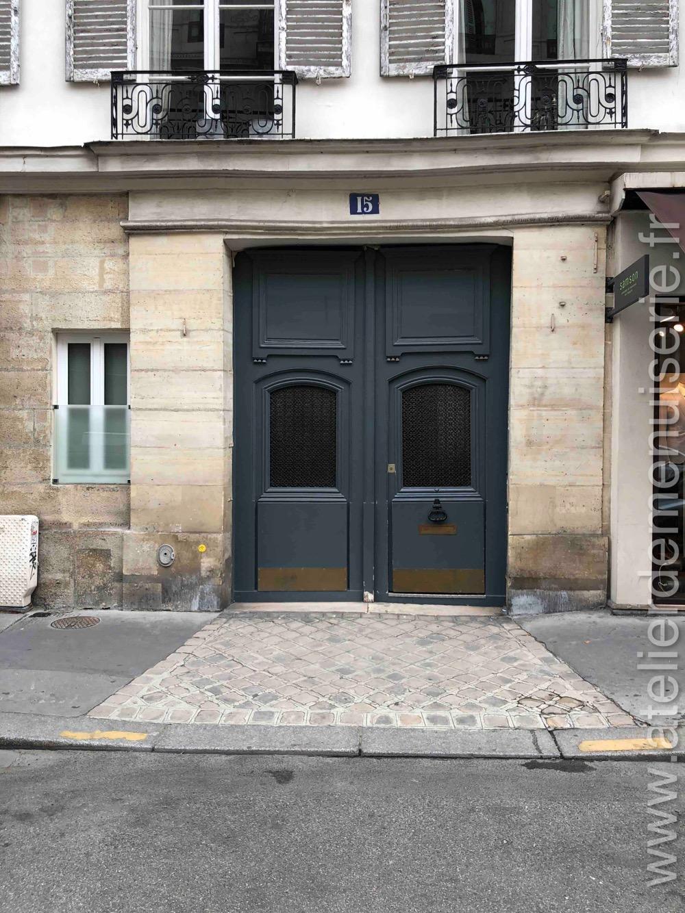 Porte Cochère - 15 RUE DE TOURNON PARIS 6