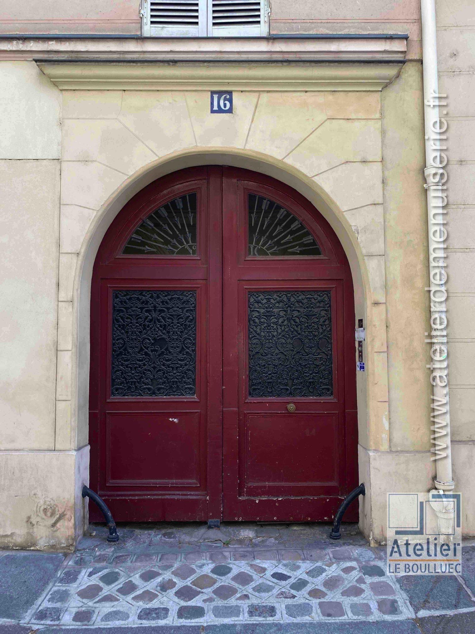 Porte Cochère - 16 RUE DES LIONS SAINT PAUL PARIS 4