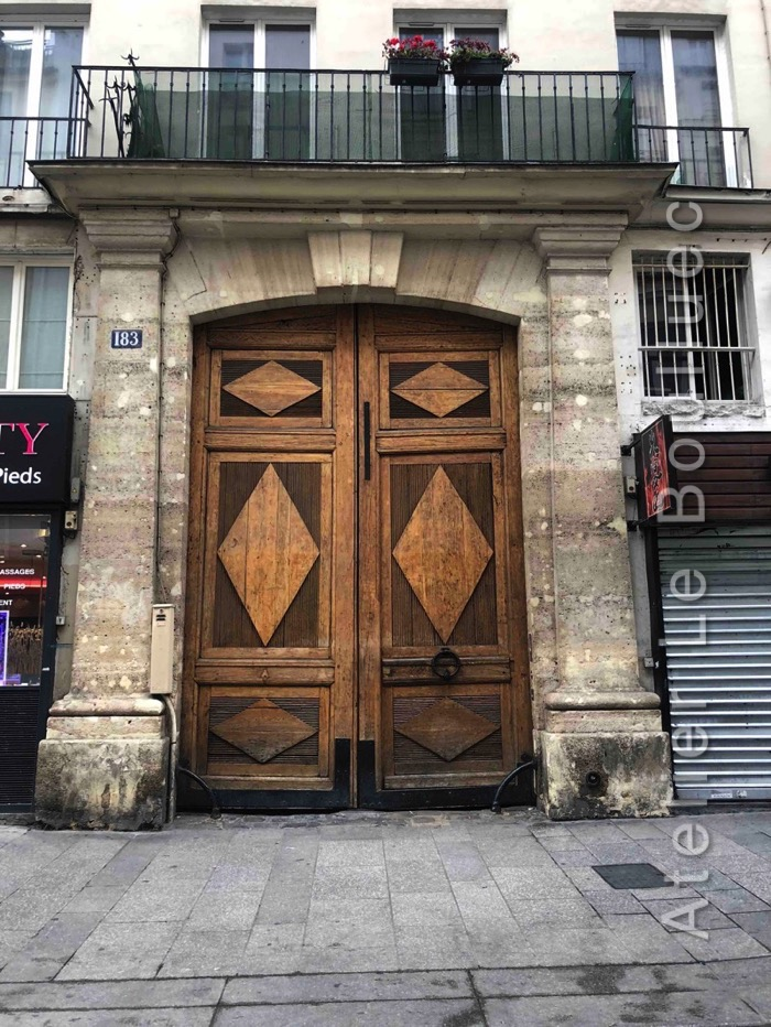 Porte Cochère - 183 RUE SAINT DENIS PARIS 2