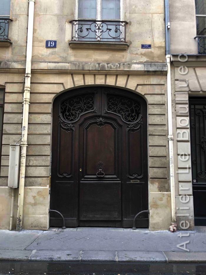 Porte Cochère - 19 RUE DE LA SOURDIERE PARIS 3