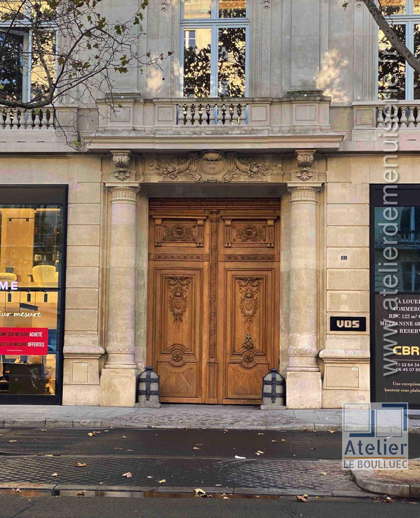Porte Cochère - 21 AVENUE KLEBER PARIS 16