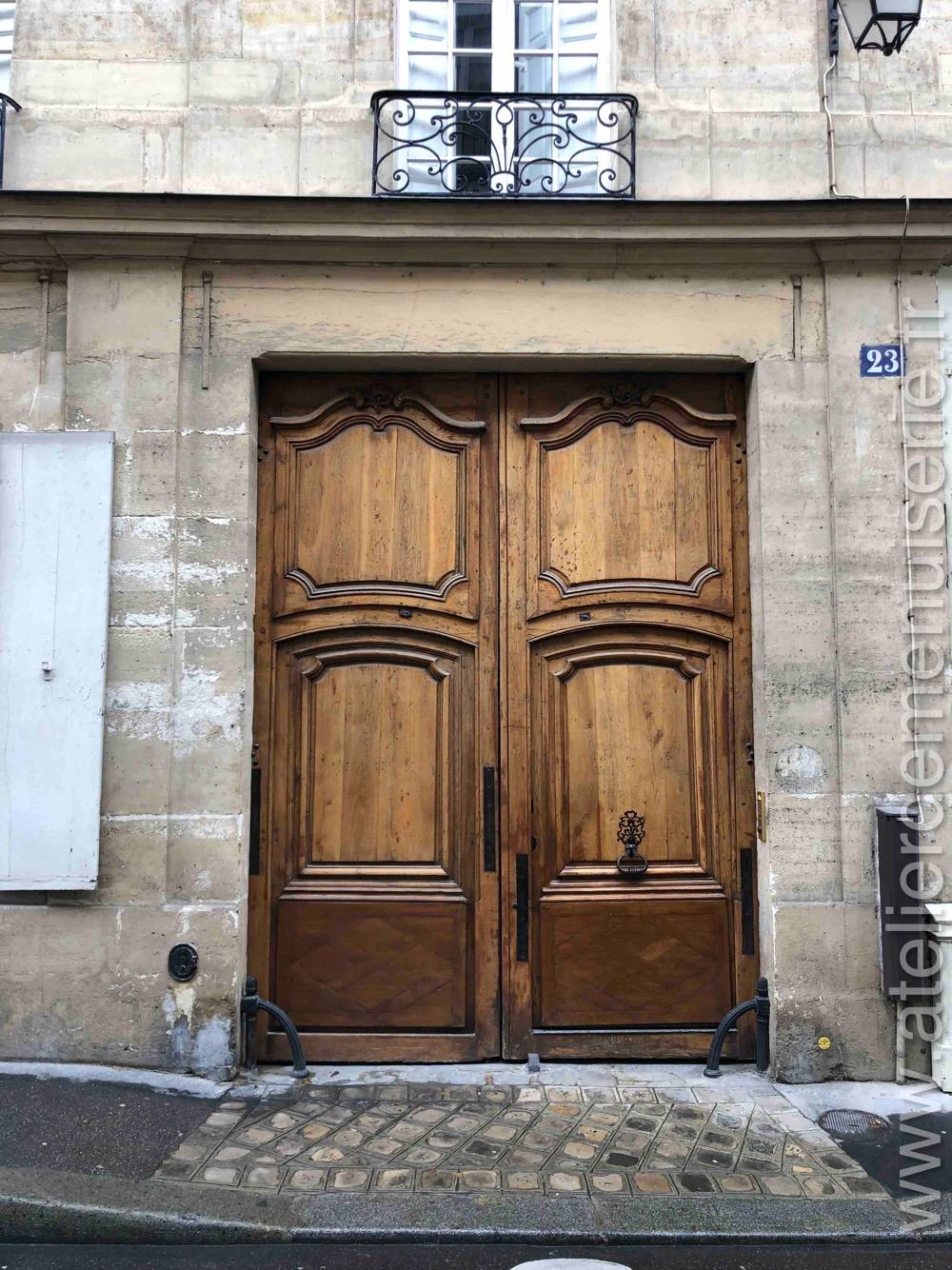 Porte Cochère - 23 RUE CHARLES V PARIS 4