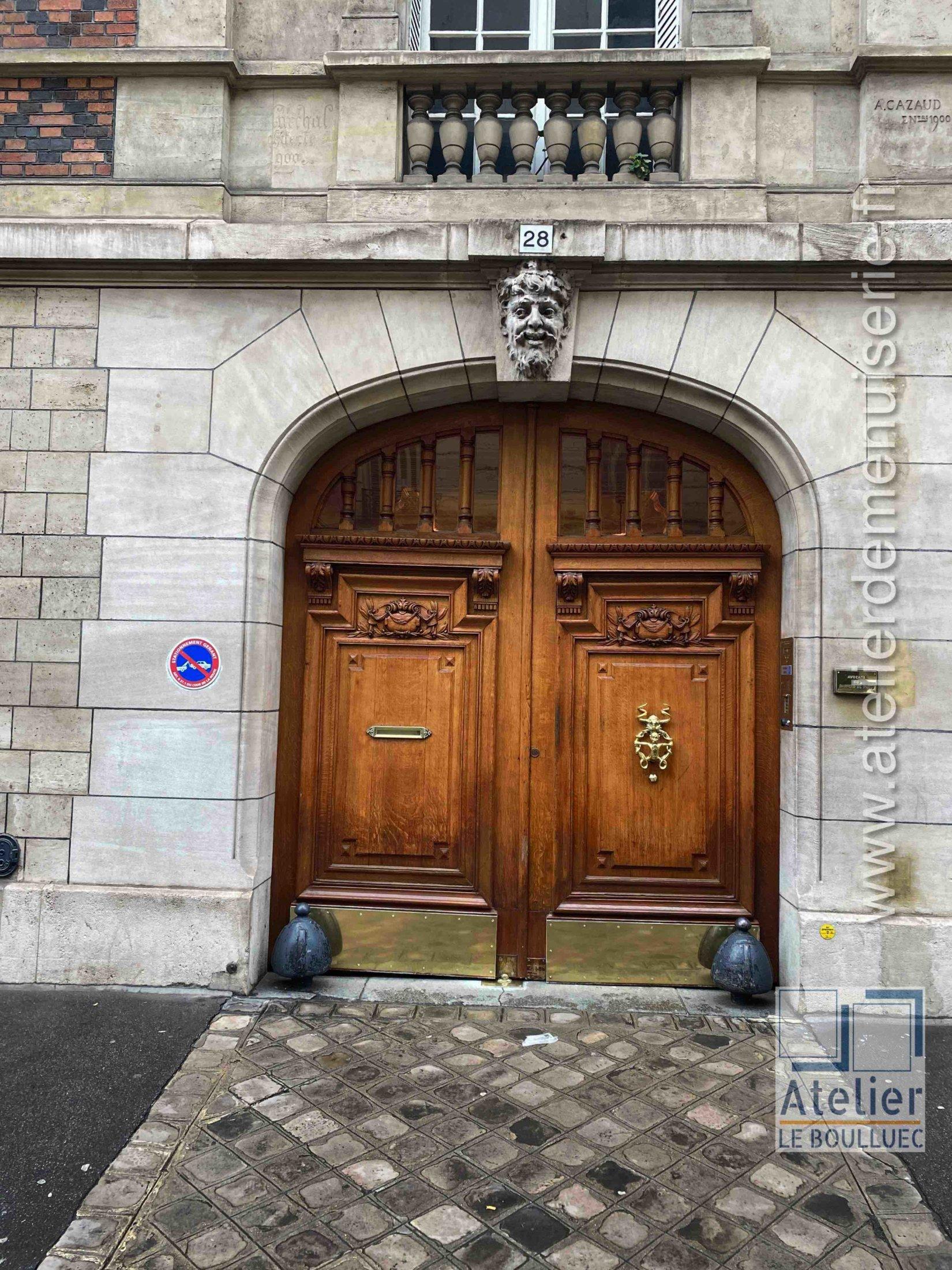 Porte Cochère - 28 RUE JULIETTE LAMBERT PARIS 17