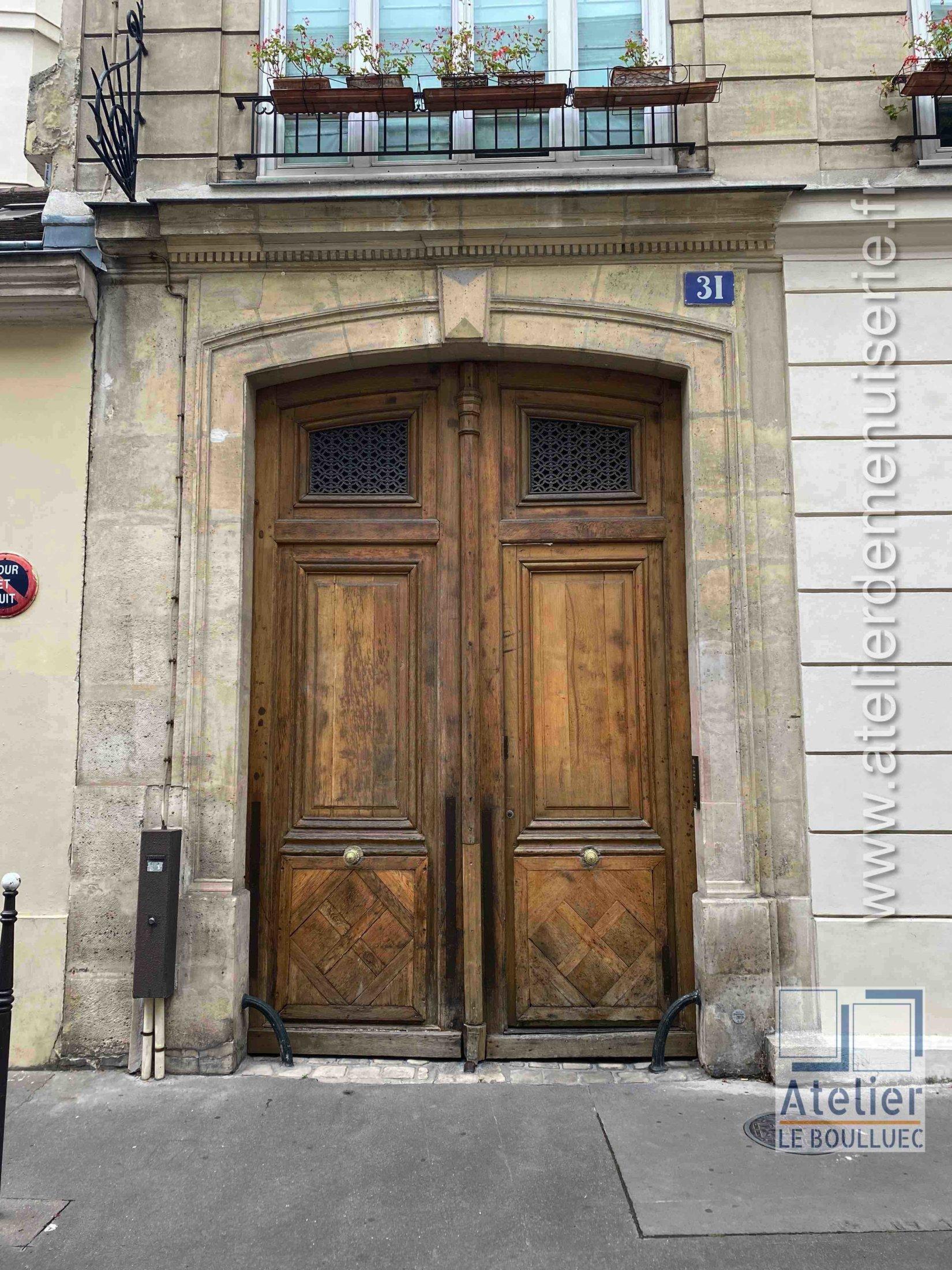 Porte Cochère - 31 RUE DU PETIT MUSC PARIS 4
