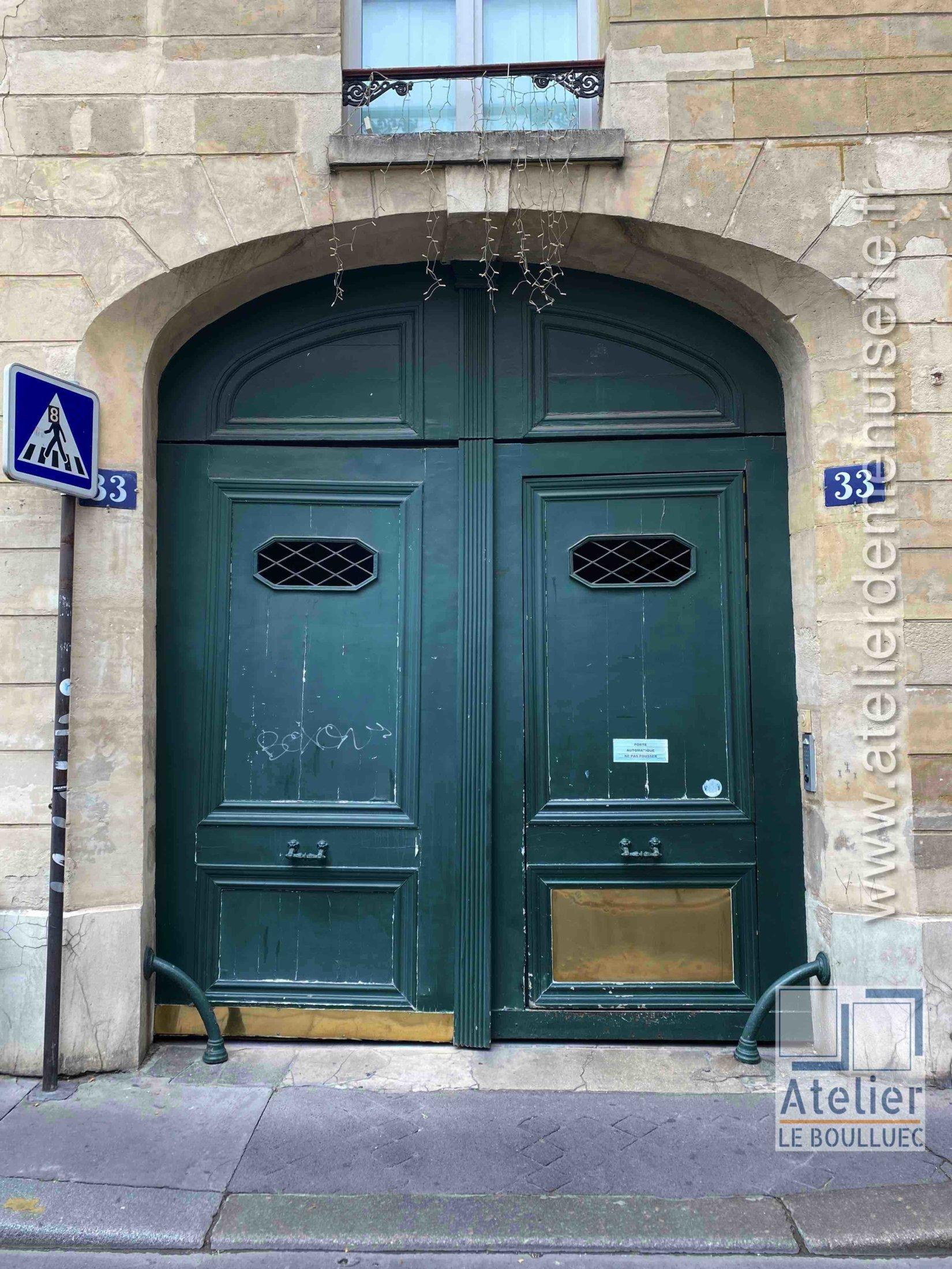 Porte Cochère - 33 RUE DU PETIT MUSC PARIS 4