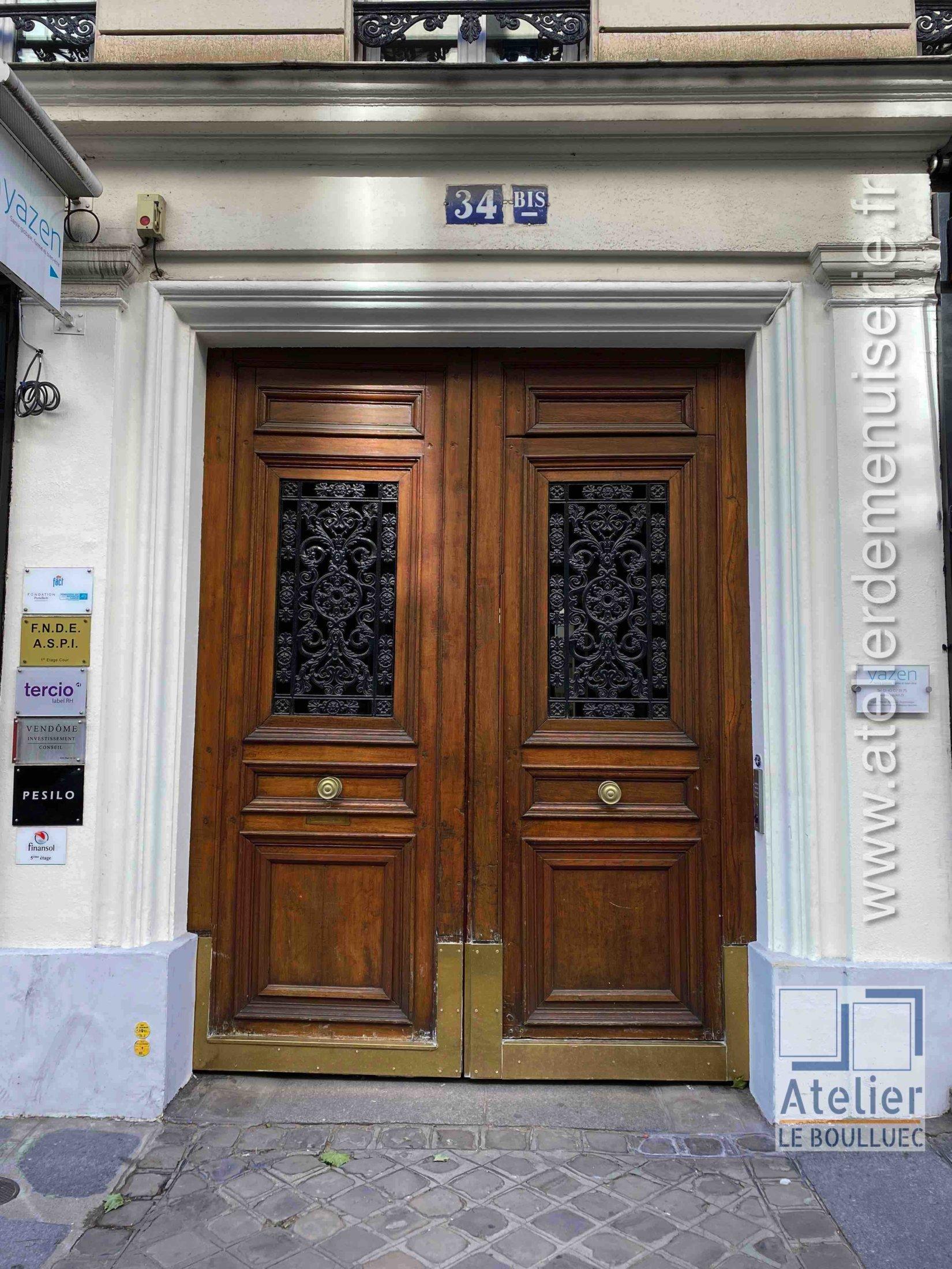Porte Cochère - 34 Bis RUE VIGNON PARIS 9
