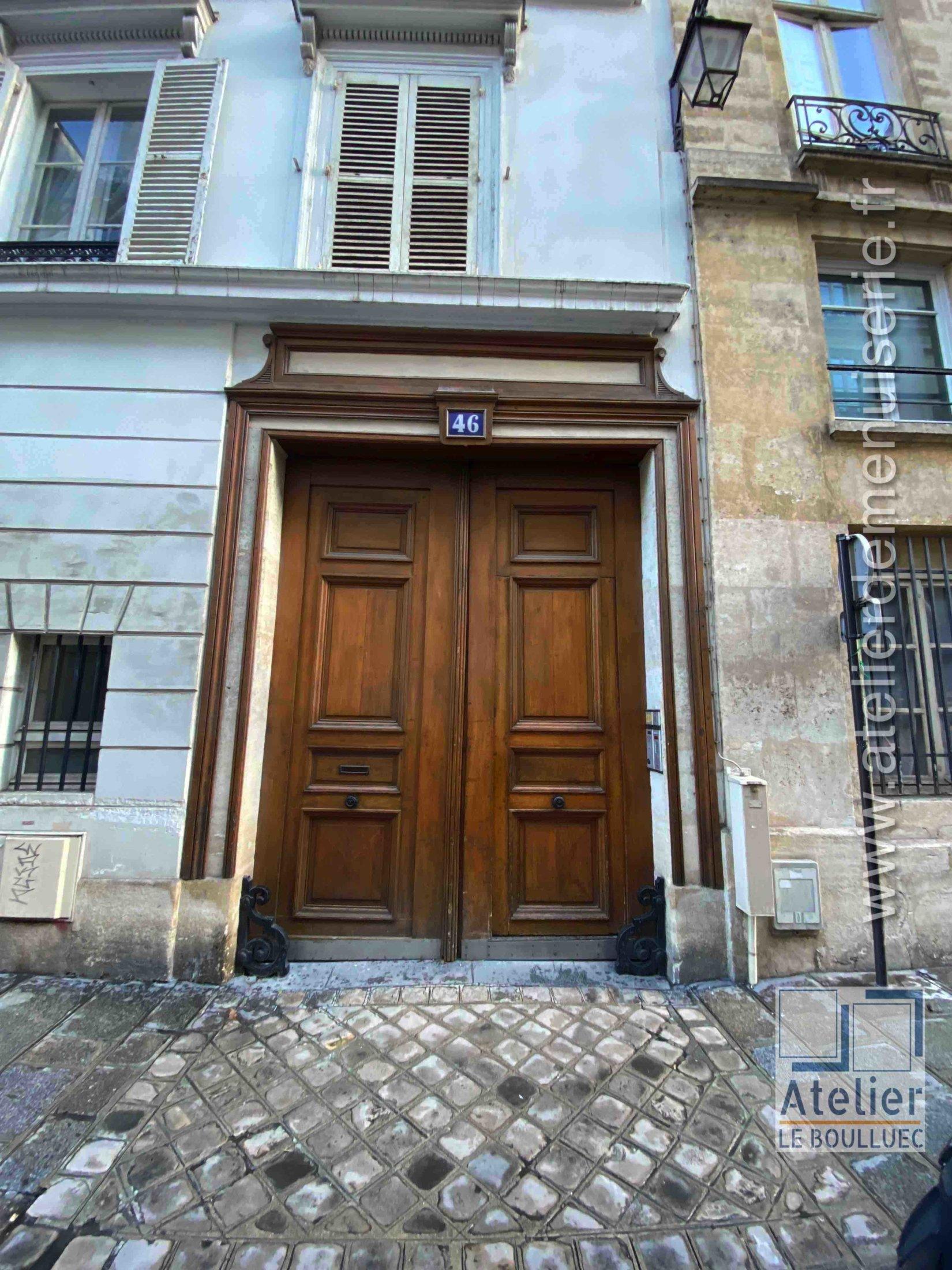 Porte Cochère - 46 RUE DE L\'UNIVERSITE PARIS 7