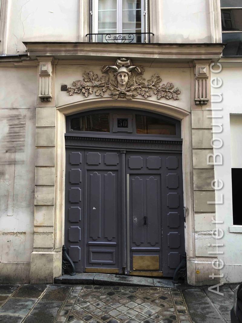 Porte Cochère - 50 RUE MESLAY PARIS 3 FACE EXT