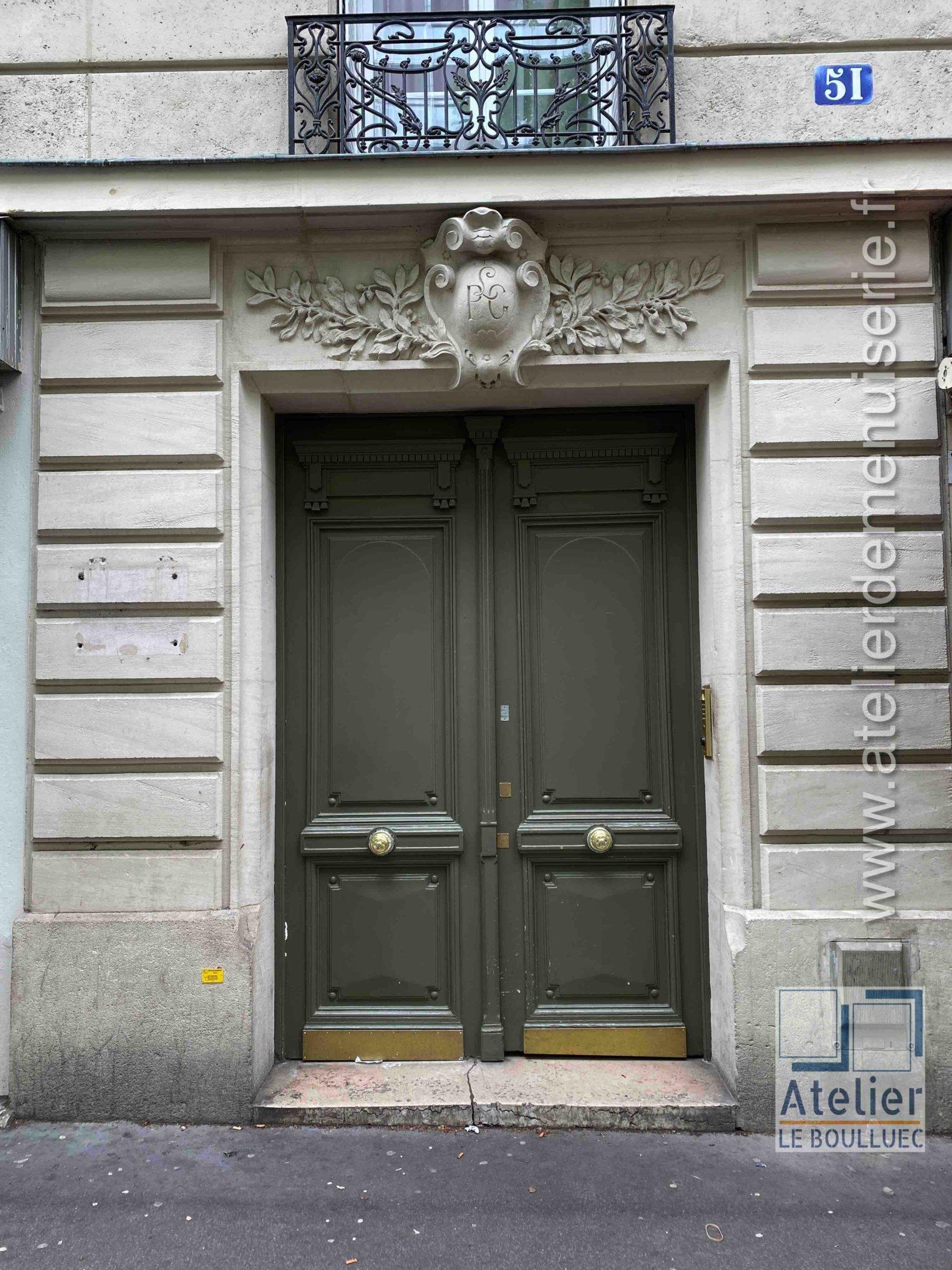 Porte Cochère - 51 AVENUE D\'IVRY PARIS 13