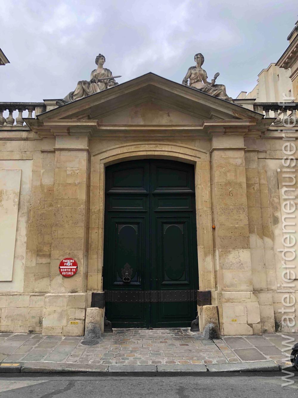 Porte Cochère - 6 RUE DE TOURNON PARIS 6