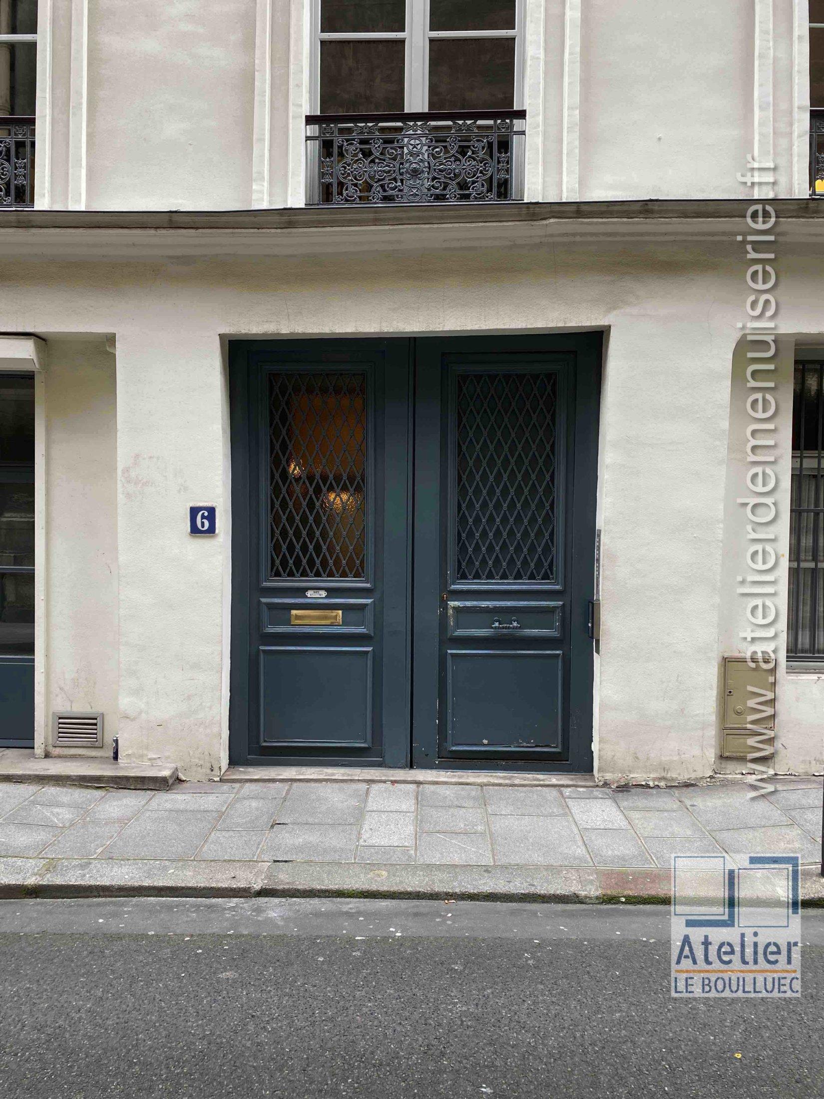 Porte Cochère - 6 RUE NOTRE DAME DES VICTOIRES PARIS 10