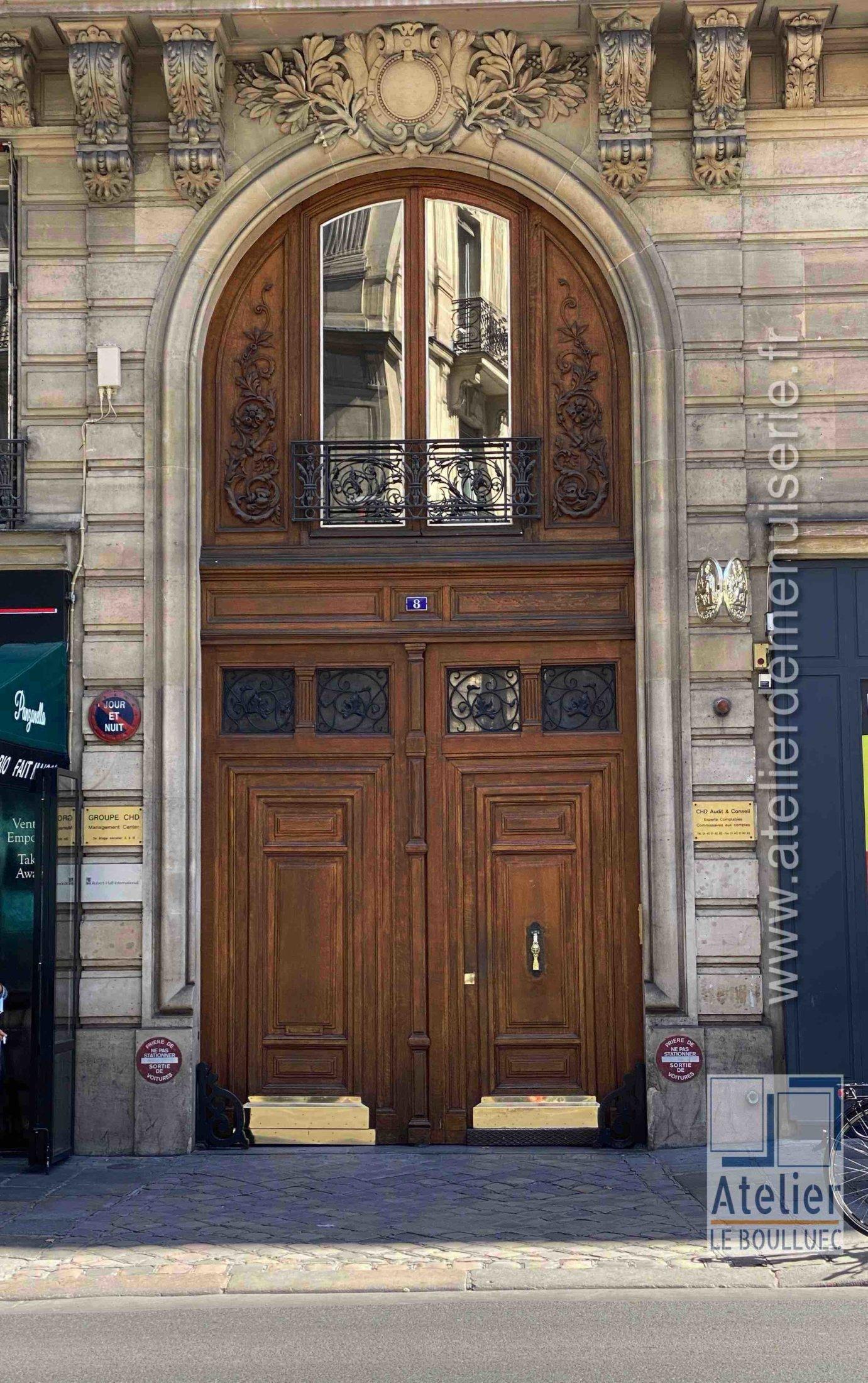 Porte Cochère - 8 RUE AUBER PARIS 9