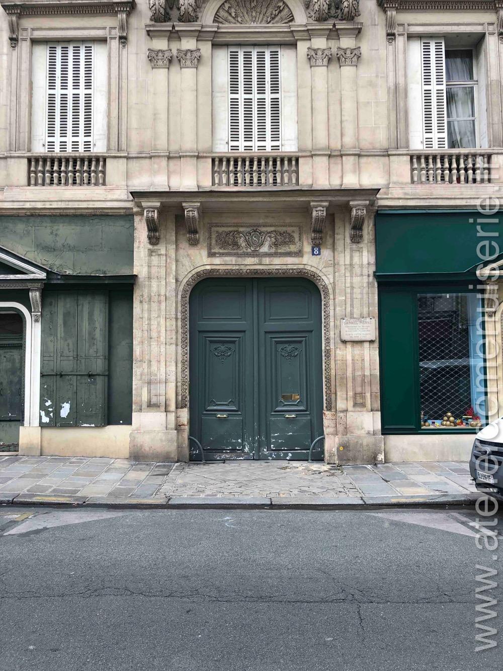 Porte Cochère - 8 RUE DE TOURNON PARIS 6