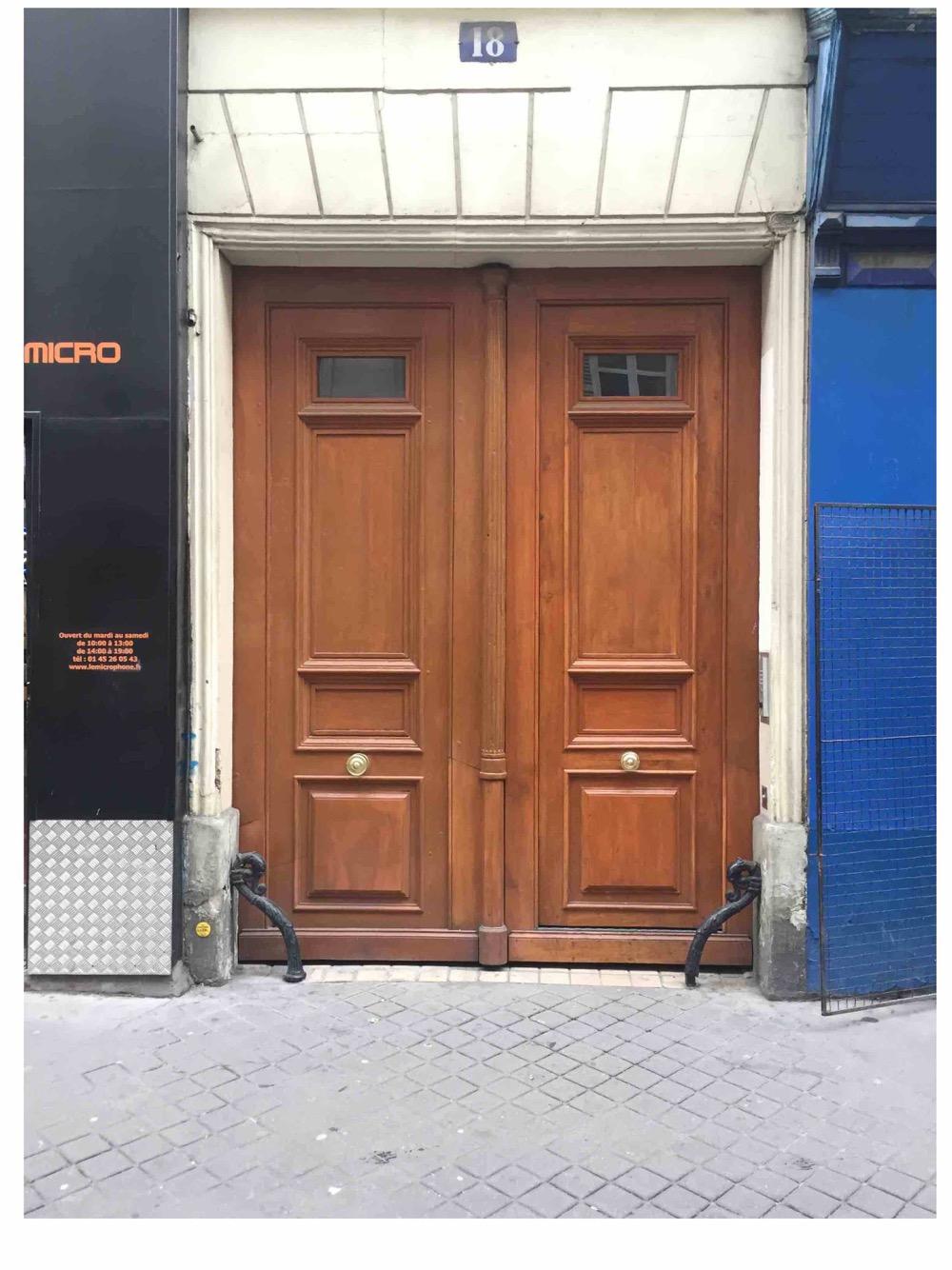Porte Cochère - Paris 10