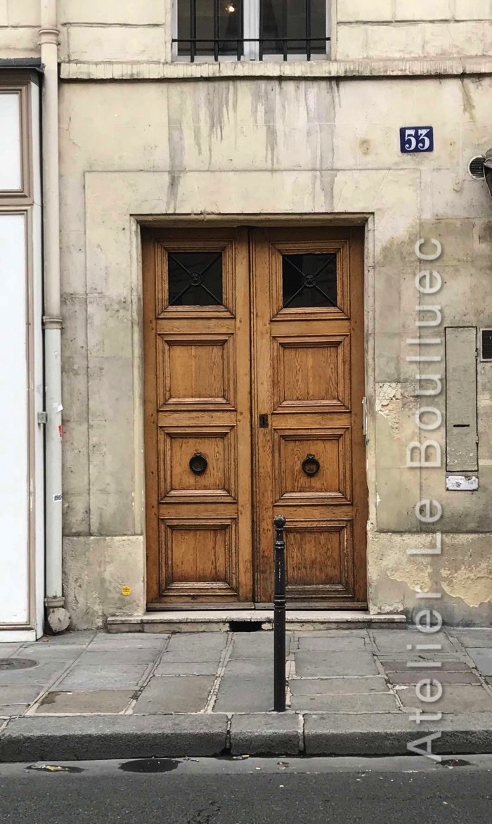 Porte Cochère Empire- 53 Rue De Turenne