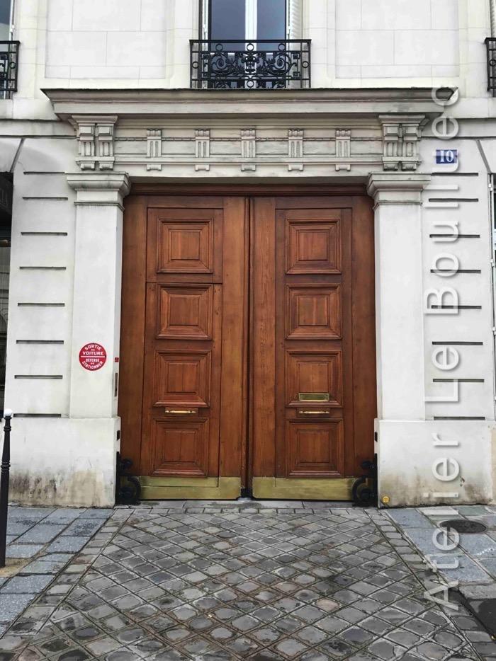 Porte Cochère Empire - 10 AV DE MATUGNON