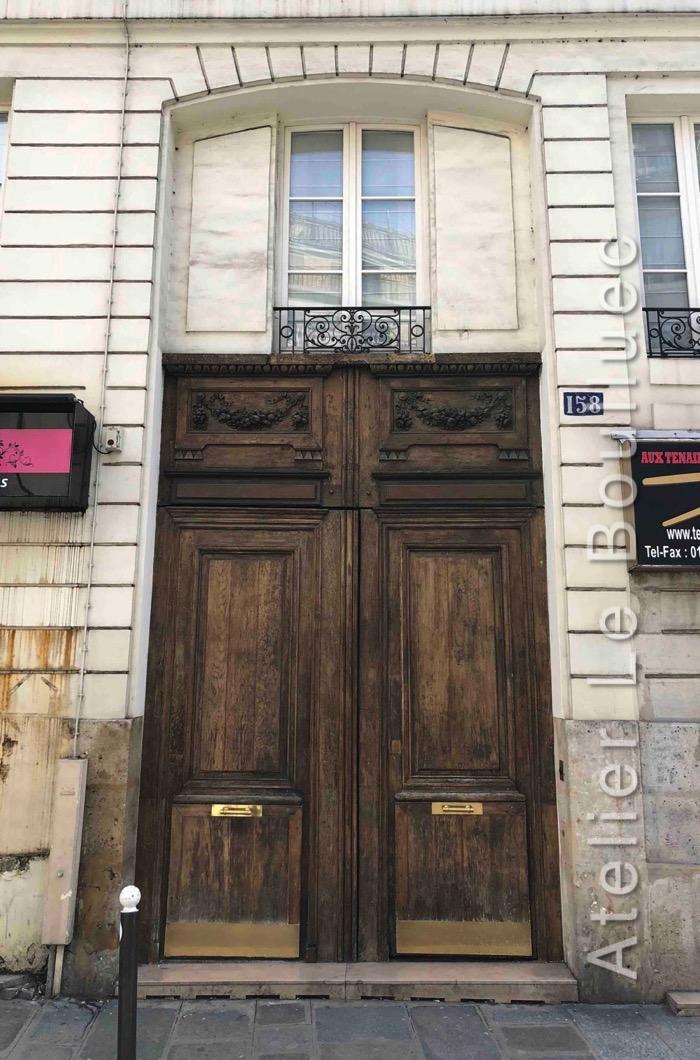 Porte Cochère Empire - 158 RUE MONTMARTRE