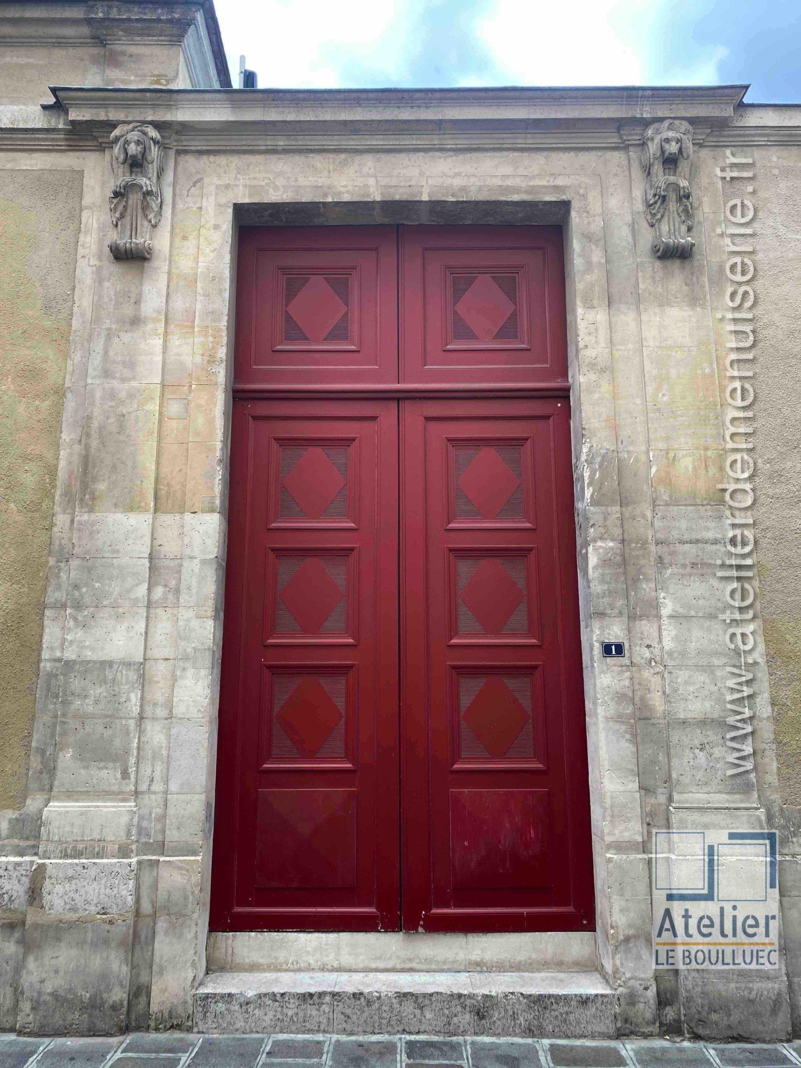 Porte Cochère Empire - 1 RUE DES COUTURES SAINT GERVAS