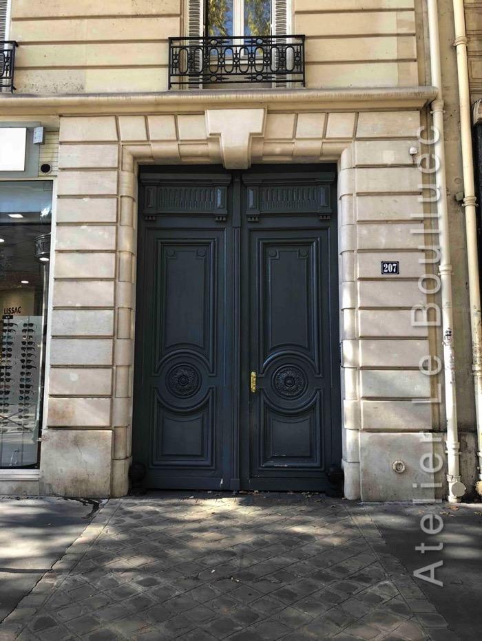 Porte Cochère Empire - 207 BD SAINT GERMAIN PARIS 7