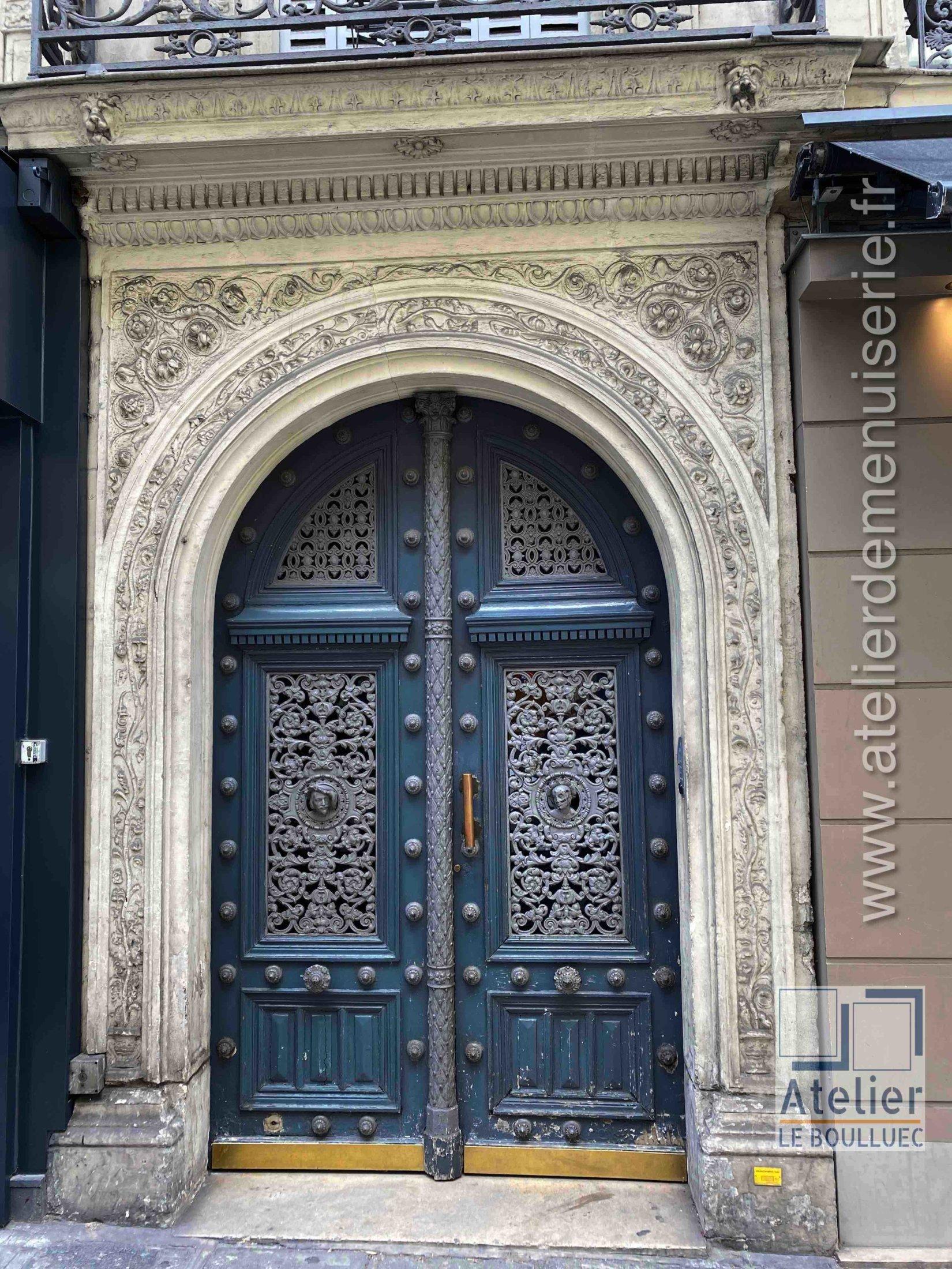 Porte Cochère Empire - 80 RUE D\'AMSTERDAM PARIS 9