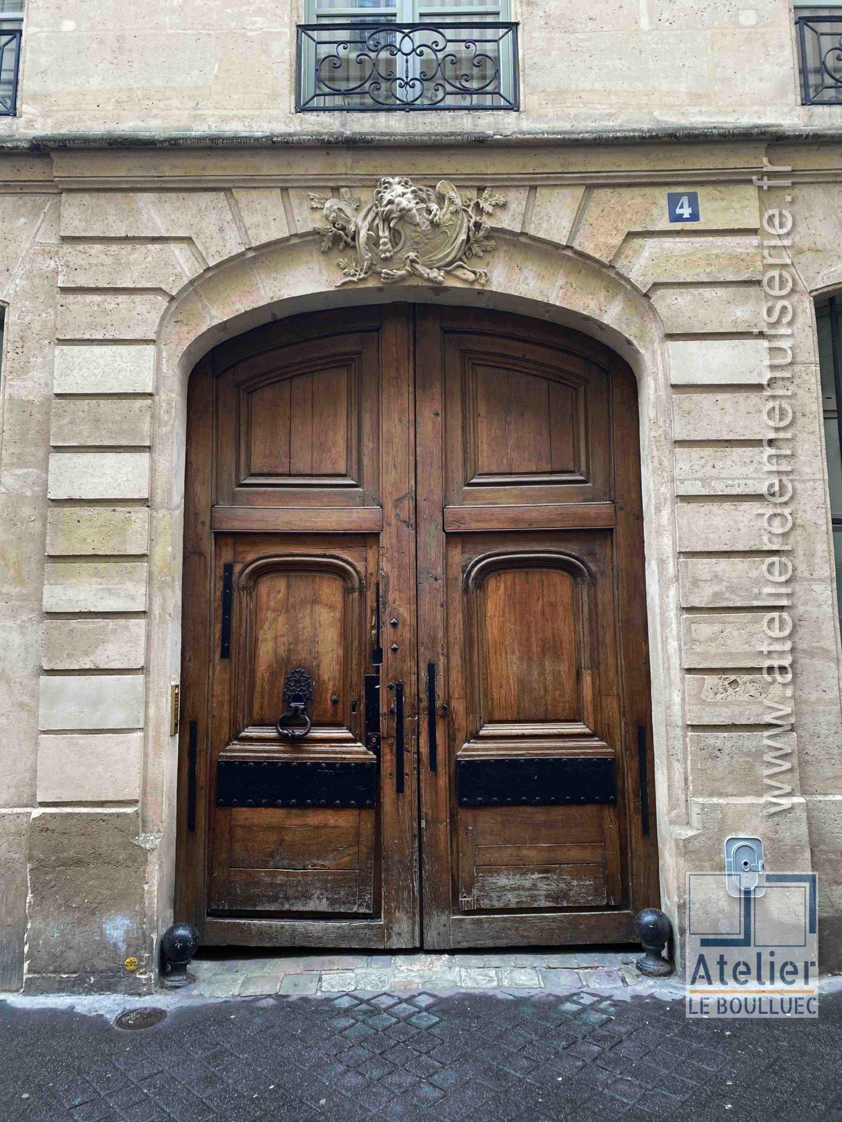 Porte Cochère LOUIS XIII - 4 RUE ROYER COLLARD PARIS 5