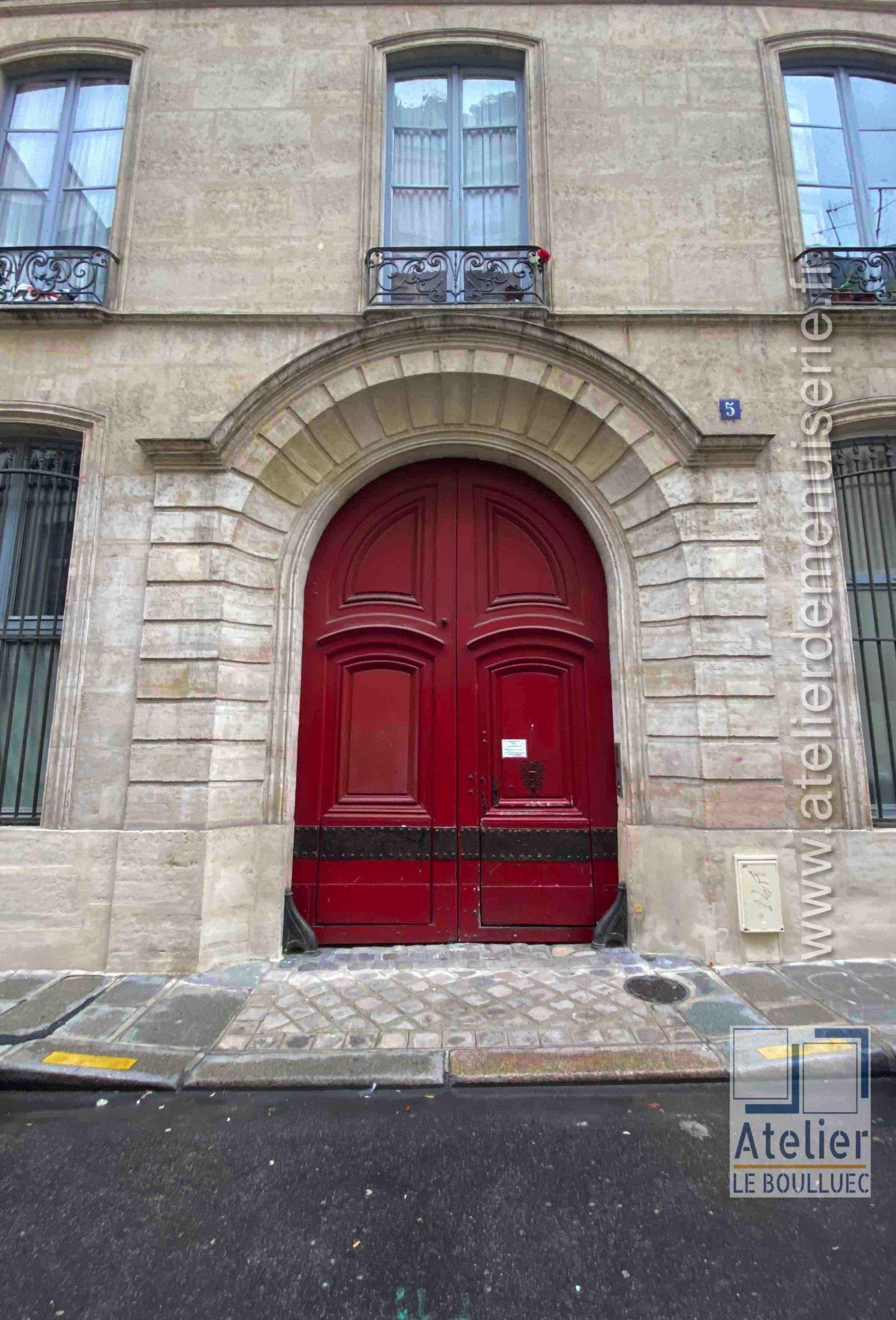 Porte Cochère LOUIS XIII - 5 RUE DES LIONS SAINT PAUL PARIS 4