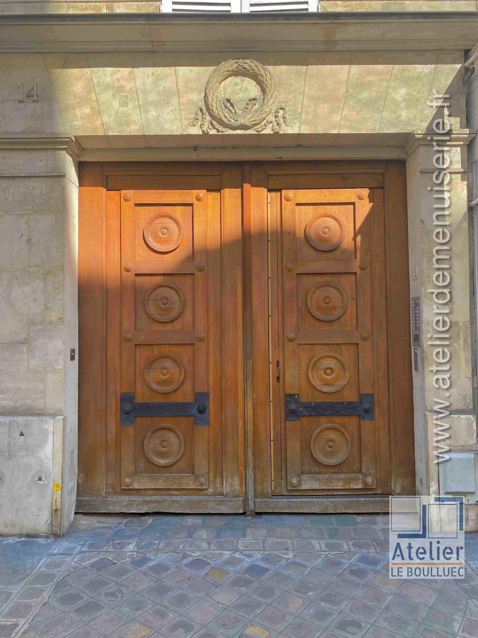 Porte Cochère LOUIS XV - 14 RUE DU CHERCHE MIDI PARIS 6