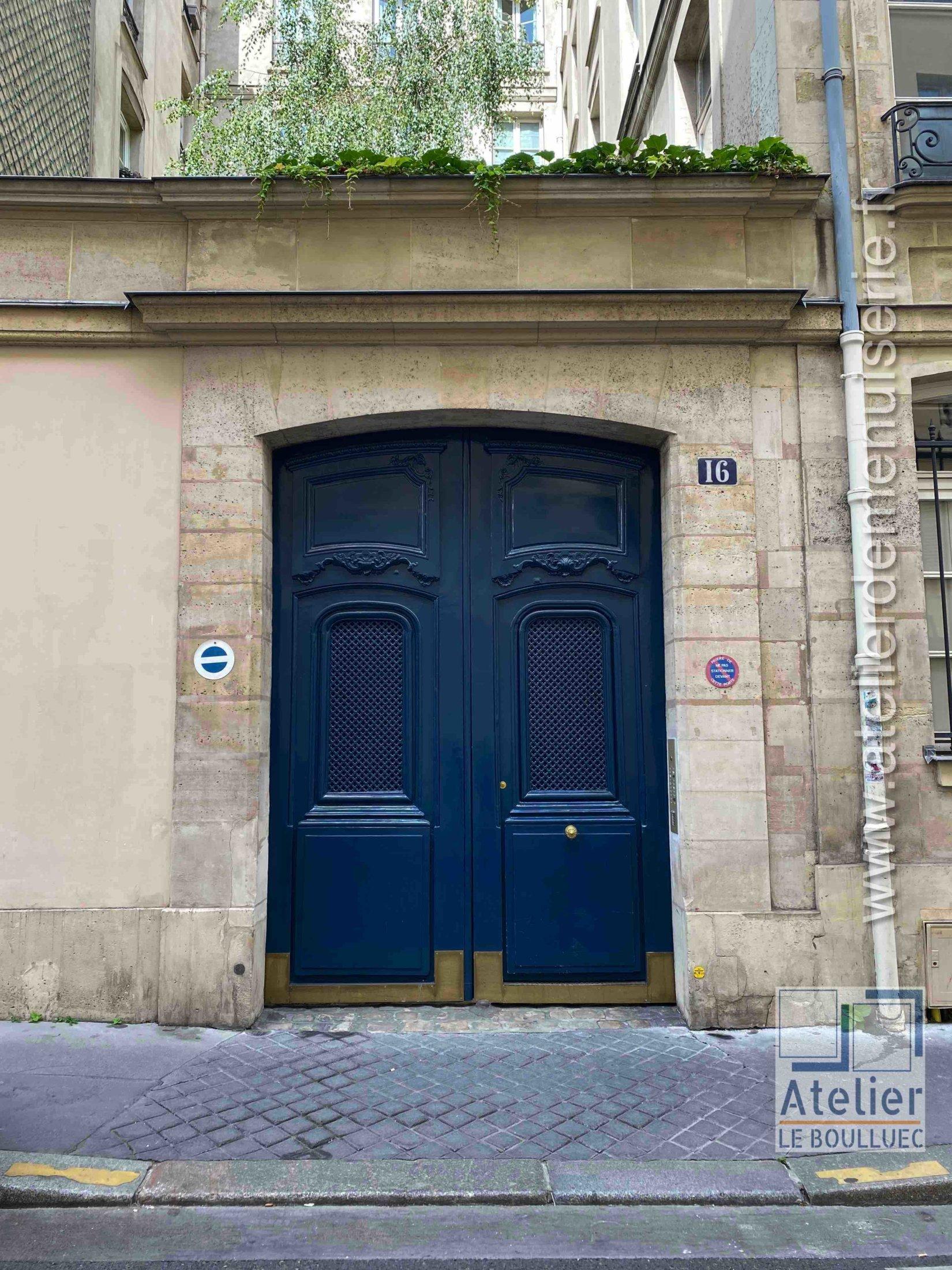 Porte Cochère LOUIS XV - 16 RUE DE CONDE PARIS 6