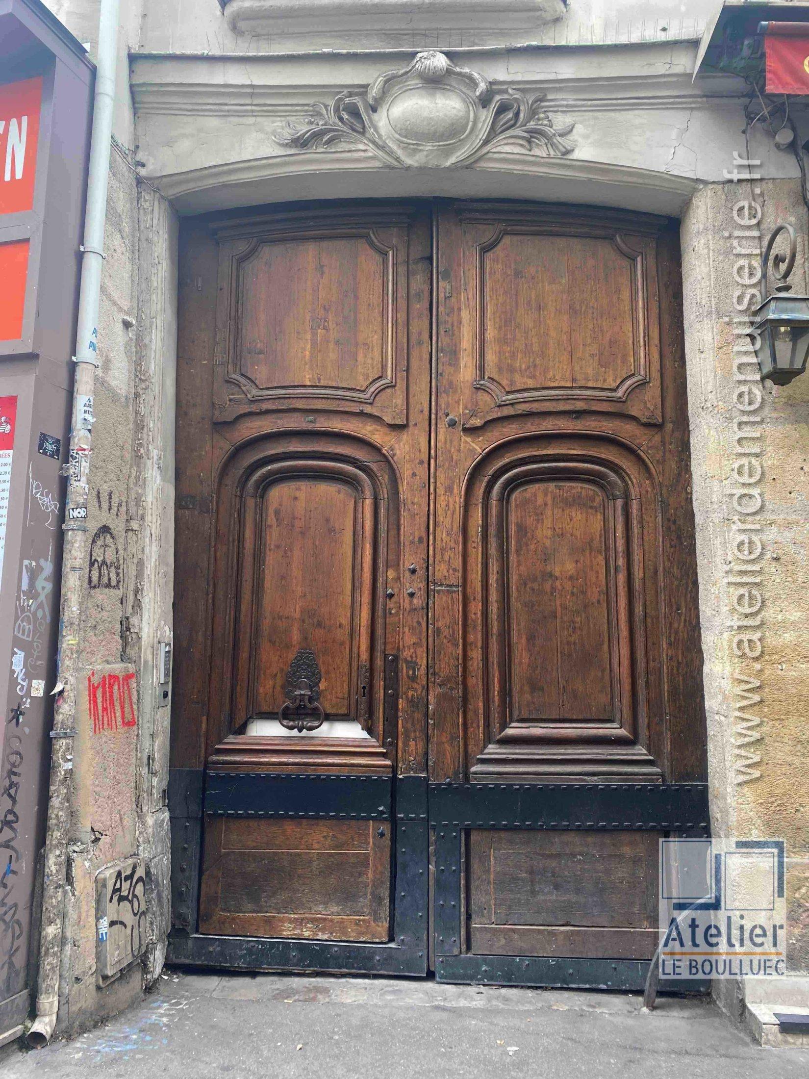 Porte Cochère LOUIS XV - 34 RUE SAINT SEVERIN PARIS 5