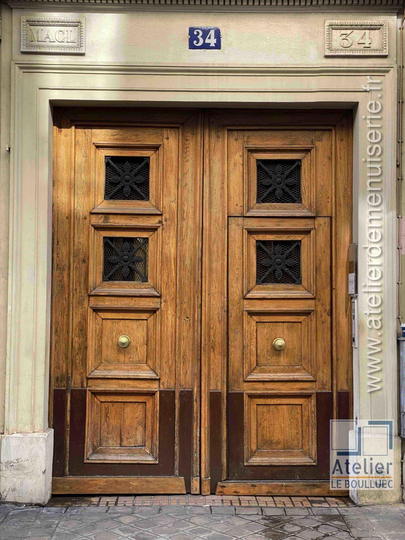 Porte Cochère LOUIS XV - 34 RUE VIGNON PARIS 9