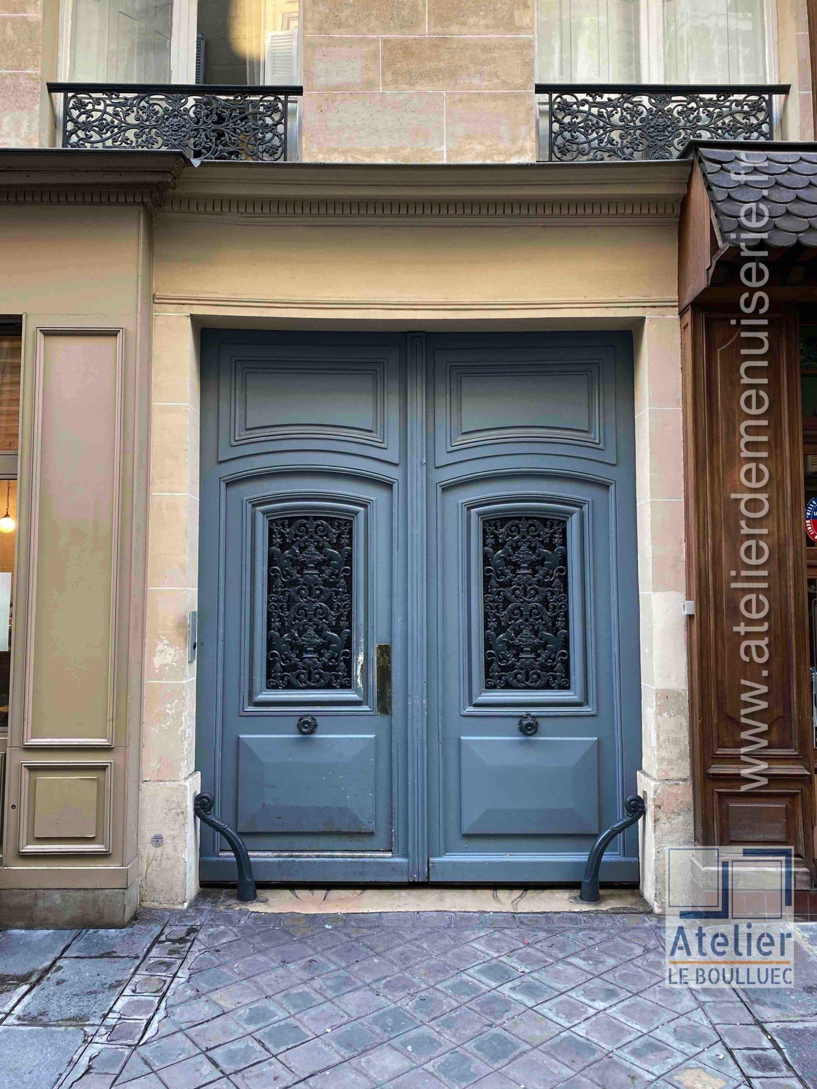 Porte Cochère LOUIS XV - 5 RUE DE VILLEDO PARIS 1