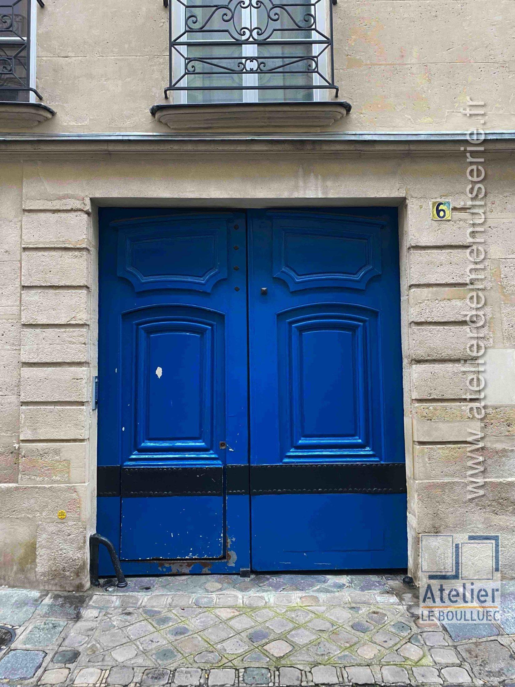 Porte Cochère LOUIUS XIII - 6 RUE DES LIONS SAINT PAUL PARIS 4