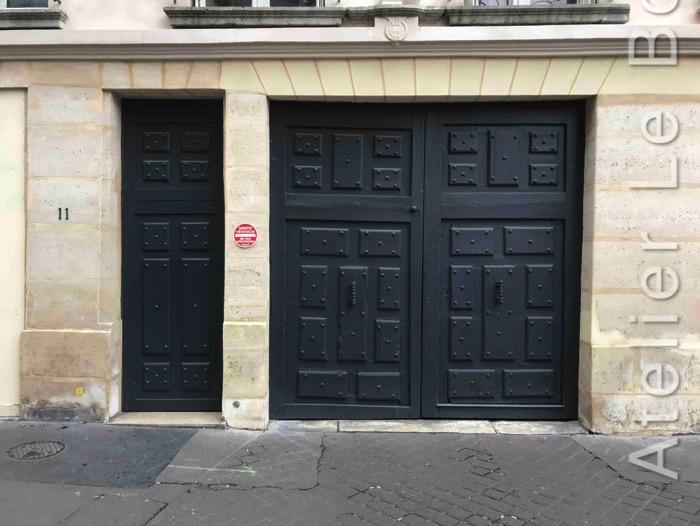 Porte Cochère Louis XIII - 11 RUE BLAINVILLE PARIS