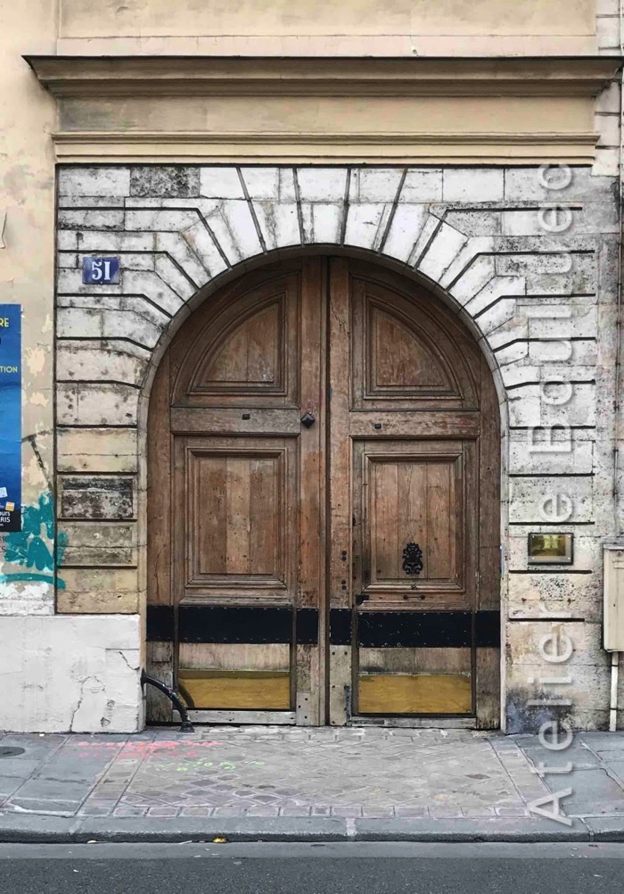 Porte Cochère Louis XIII - 51 Rue De Turennes