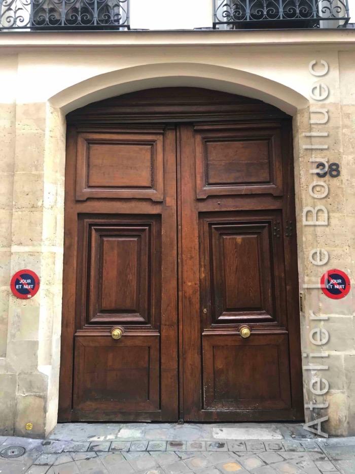 Porte Cochère Louis XIII - Paris 4