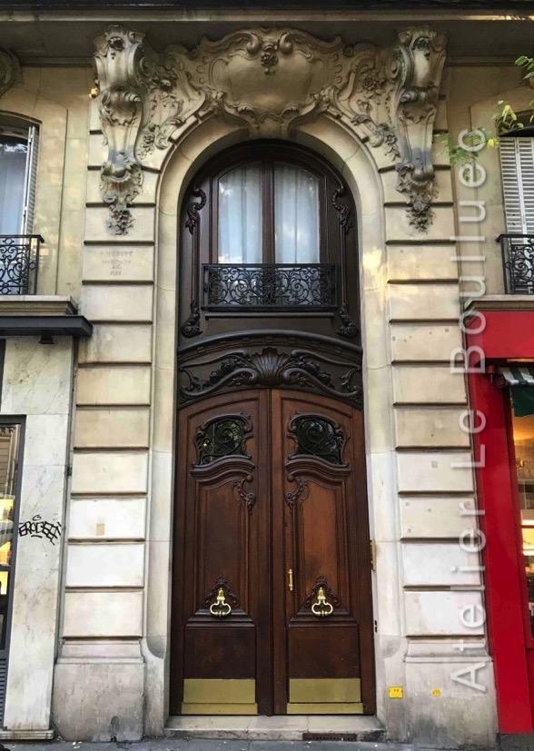 Porte Cochère Louis XIV - Rue Caulaincourt Paris 18