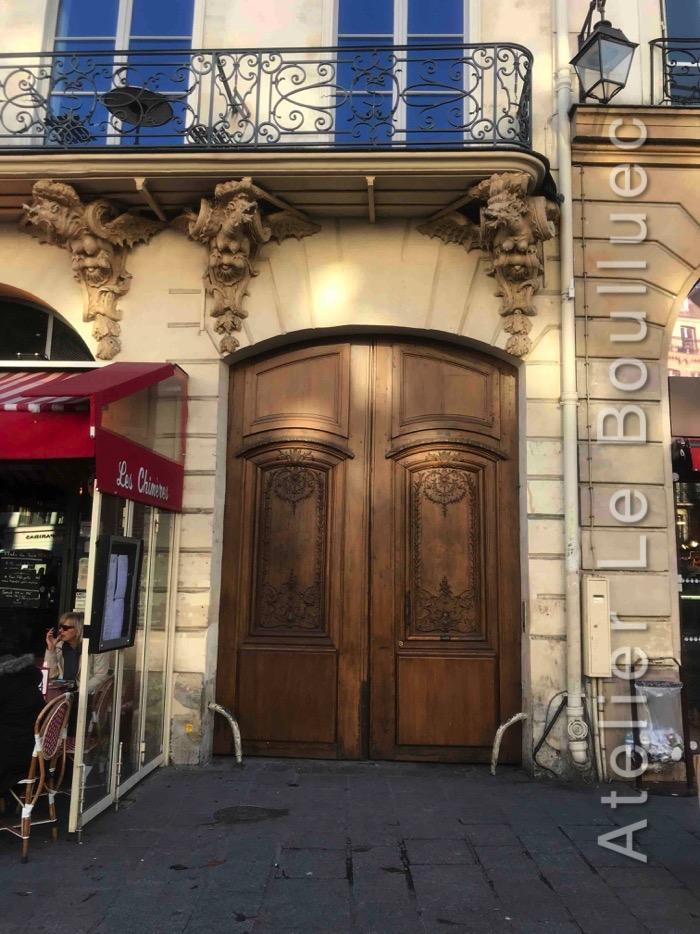 Porte Cochère Louis XV - 133 RUE SAINT ANTOINE PARIS 4