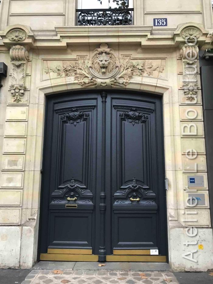 Porte Cochère Louis XV - 135 BD HAUSSMANN PARIS 8