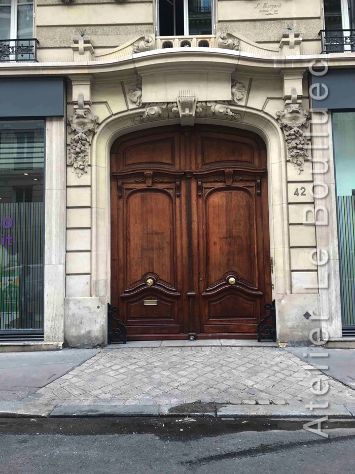 Porte Cochère Louis XV - 42 RUE SAINT MAUR PARIS 11