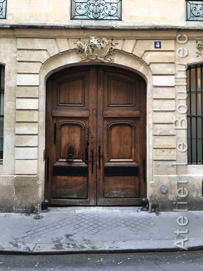 Porte Cochère Louis XV - 4 RUE ROYER COLLARD PORTE LOUIS XIII A VERIFIER