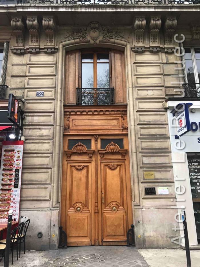Porte Cochère Louis XV - 52 AV DE LA REPUBLIQUE