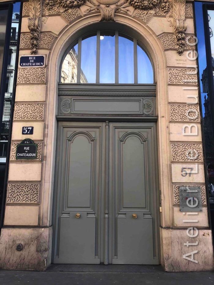 Porte Cochère Louis XV - 57 RUE DE CHATEAUDUN PARIS 9