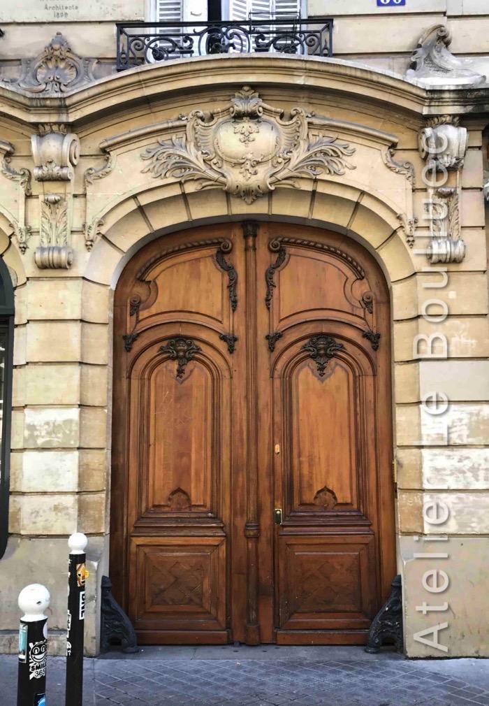 Porte Cochère Louis XV - 60 Bd De La République