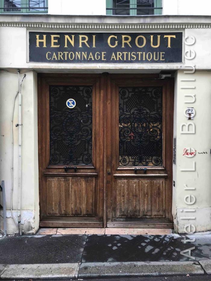 Porte Cochère Louis XV - 77 RUE CHARLOT PARIS 3