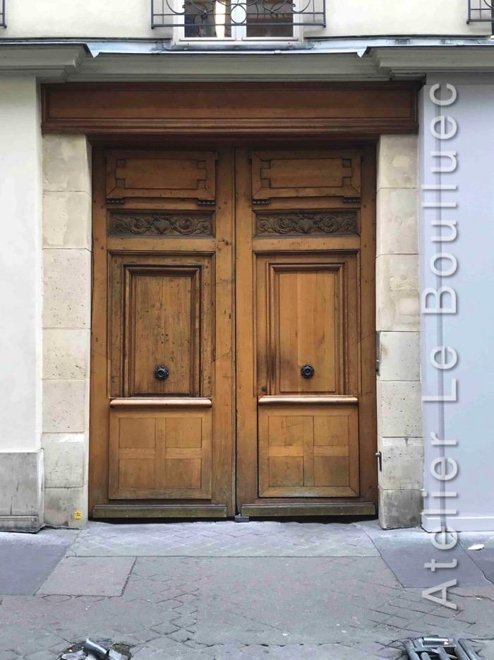 Porte Cochère Louis XV - RUE SAINT JACQUES PARIS 5