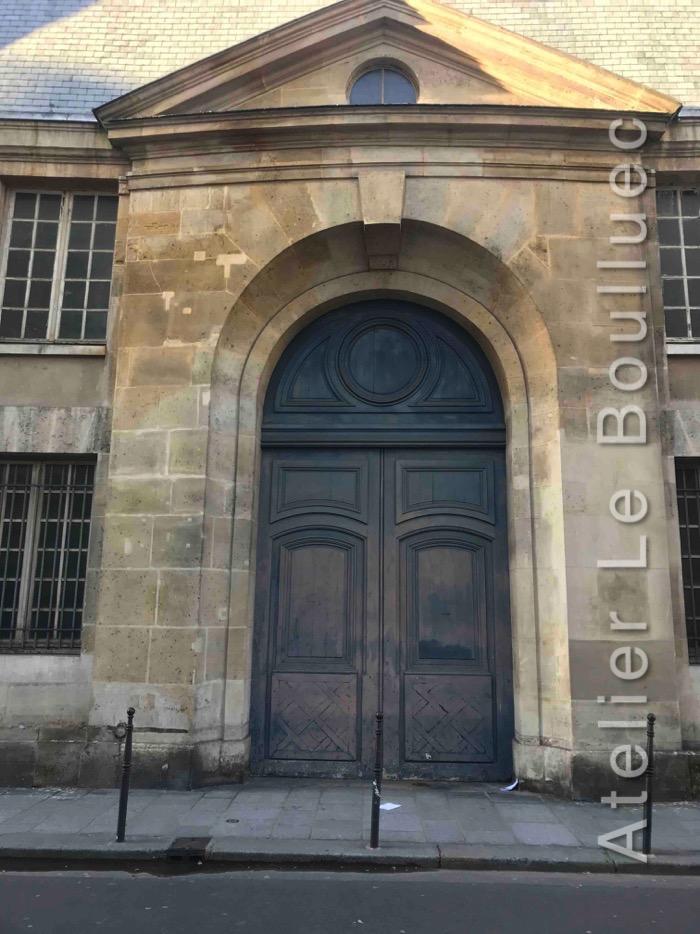 Porte Cochère Louis XV - RUE VIEILLE DU TEMPLE PARIS 3