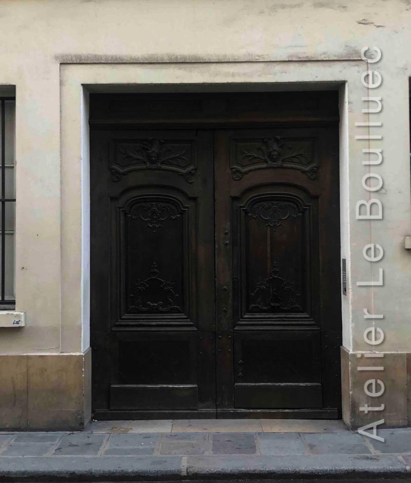 Porte Cochère Louis XiV - 36 RUE SAINTE CROIX DE LA BRETONNERIE - PARIS 4