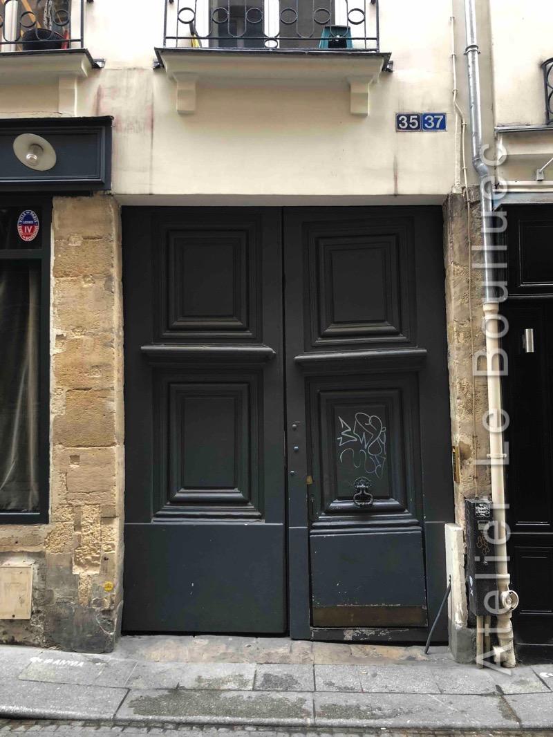 Porte Cochère Louis Xiii - 35-37 RUE SAINT SAUVEUR PARIS 2