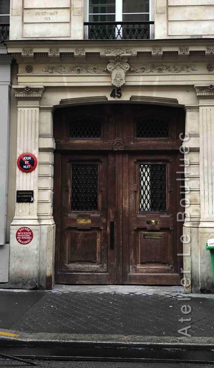 Porte Cochère Louis Xiii - 45 RUE DES PETITES ECURIES PARIS 10