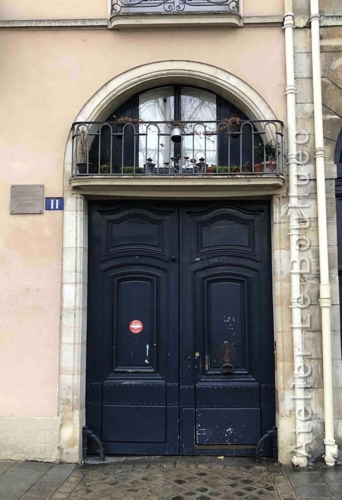 Porte Cochère Louis Xv - 11 QUAI D\'ANJOU - PARIS 4